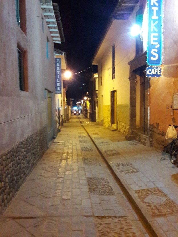 The streets of Pisac