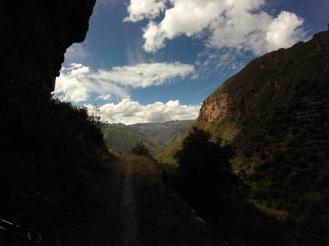 Blasting through the valley